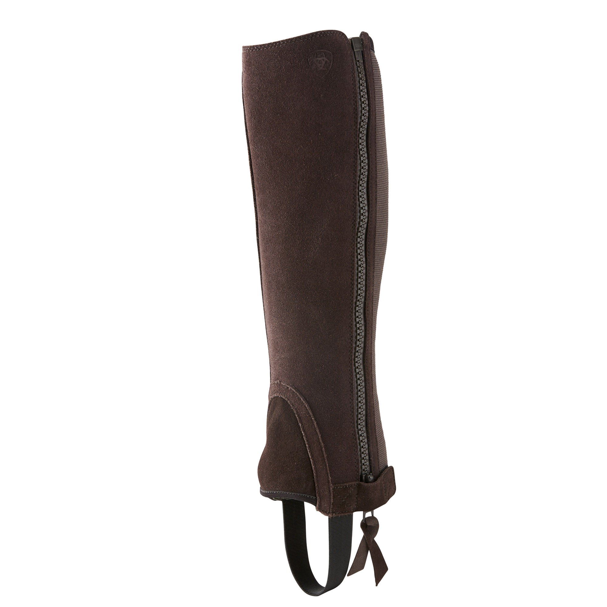 Ariat Unisex Breeze Chap Half Chaps M R Chocolate Suede