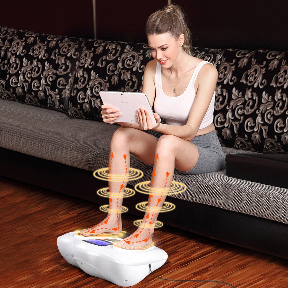 EMS Foot Massager/Foot Circulation Device- Boost Circulation & Relieve Aching Feet and Legs, Strengthen Leg Muscles by OSITO (Image #4)