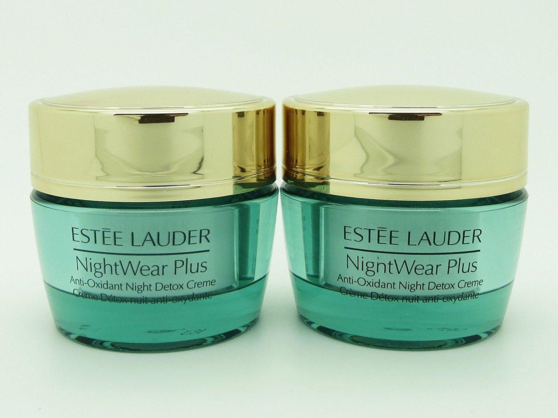 Estee Lauder NightWear Plus Anti-Oxidant Night Detox Creme – 0.5 Oz X 2 Duo Pack total 1 Oz