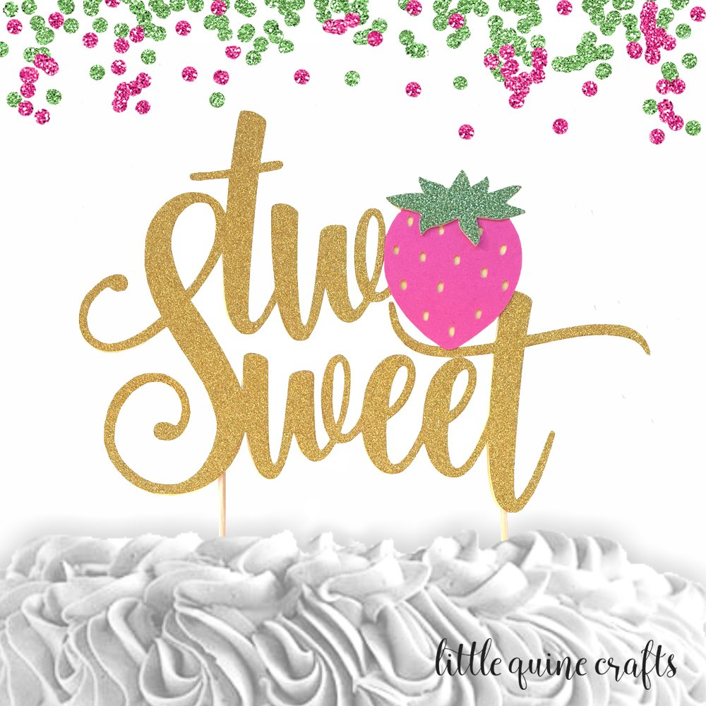 Amazon com: 1 pc two Sweet Strawberry twotti fruity script