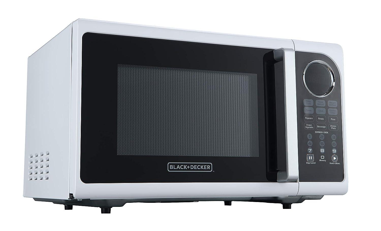 Amazon.com: Black+Decker EM925ACP-P1 0.9 Cu. Ft. Microondas ...