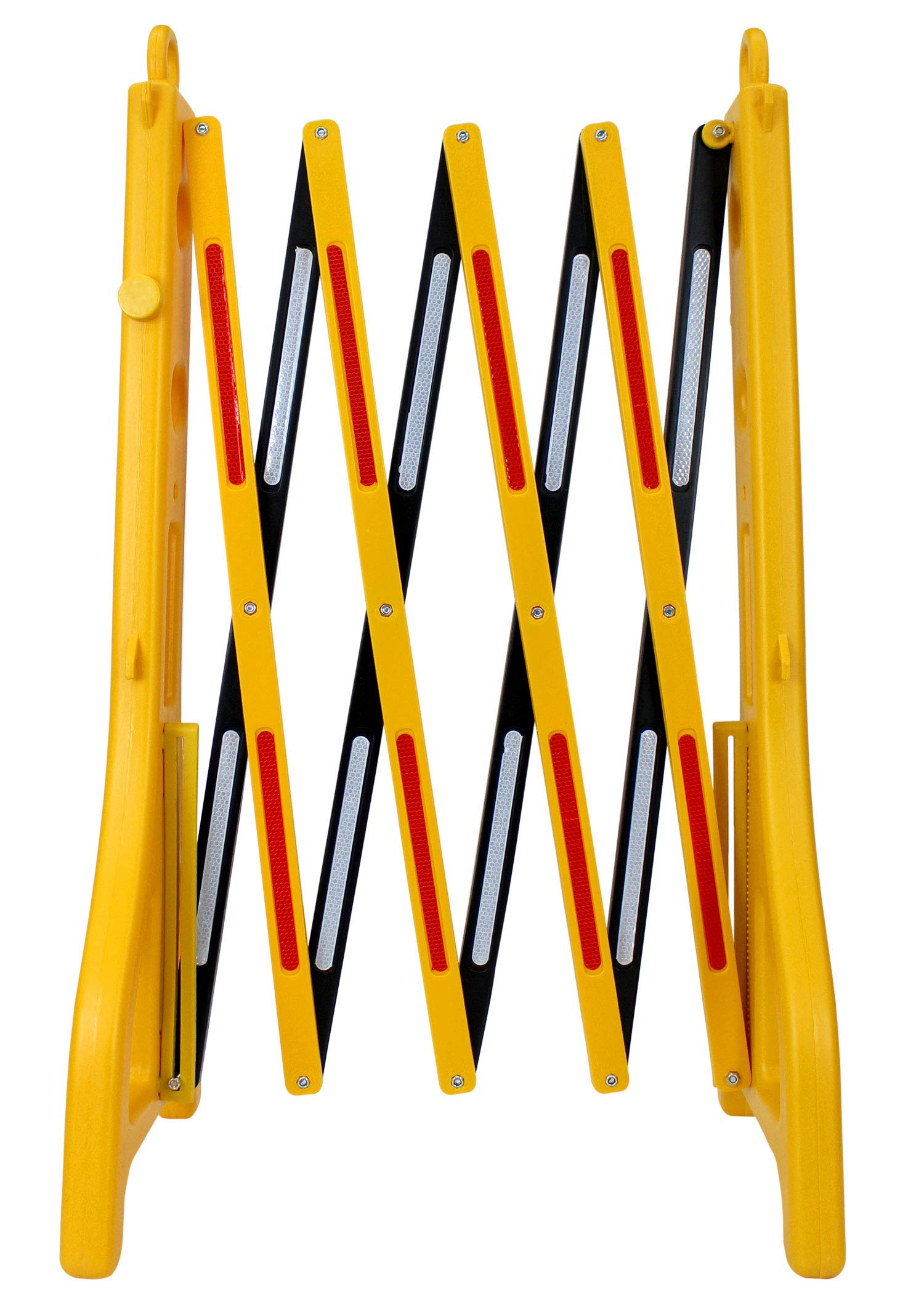 RK Safety RK-EXB1 Expandable Barricade System,Safety Barrier Gate,38'' Tall - 8' 2'' Max Width