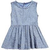e1d12ea6 YOHA Baby Girls Ruffle Jumper Dress Suspender Skirts Pinafore Toddler Dress