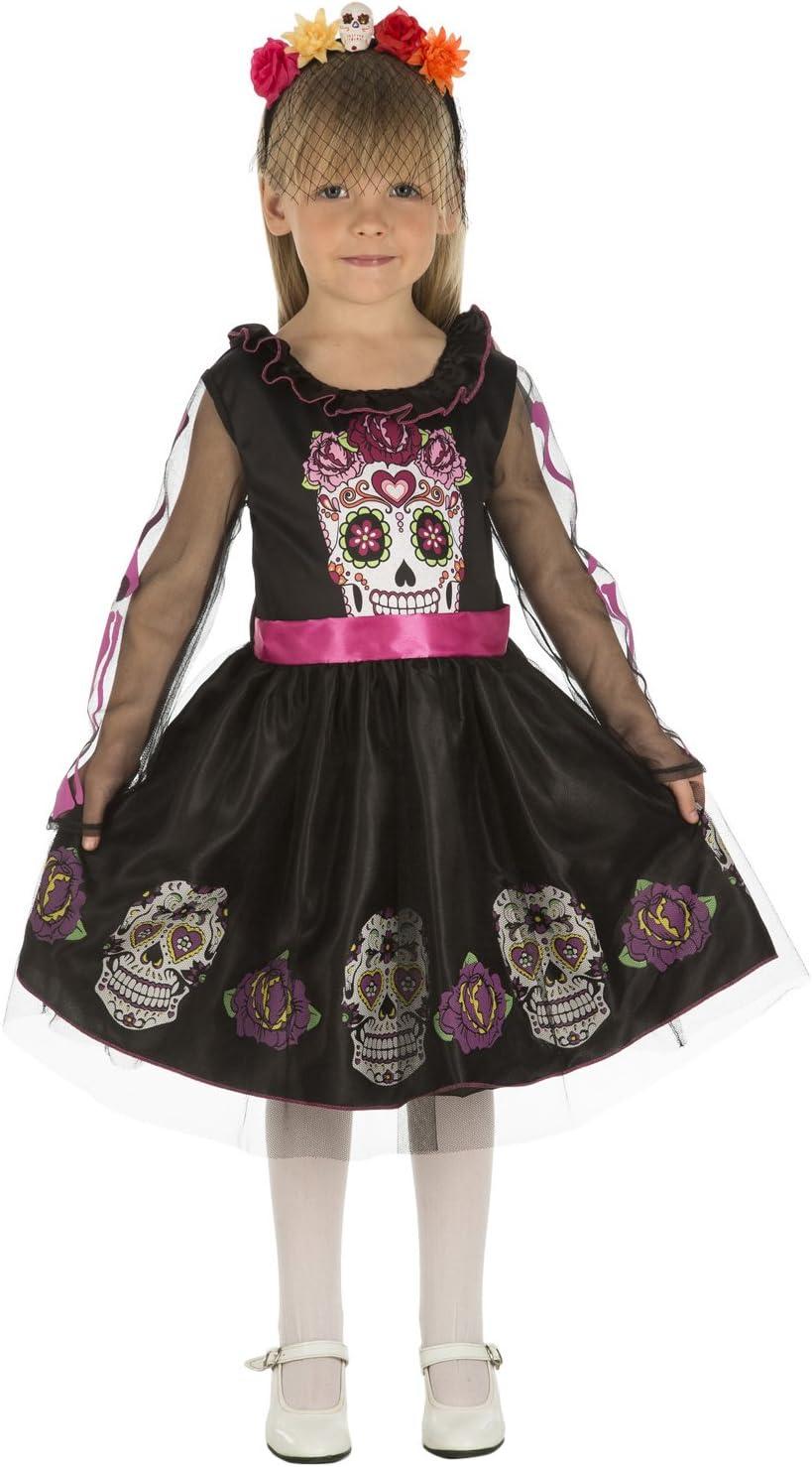 My Other Me Me-204035 Disfraz de calaverita para niña, 10-12 años ...