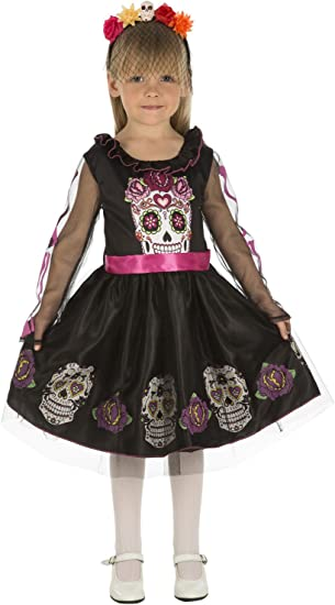 My Other Me Me-204033 Disfraz de calaverita para niña, 5-6 años ...