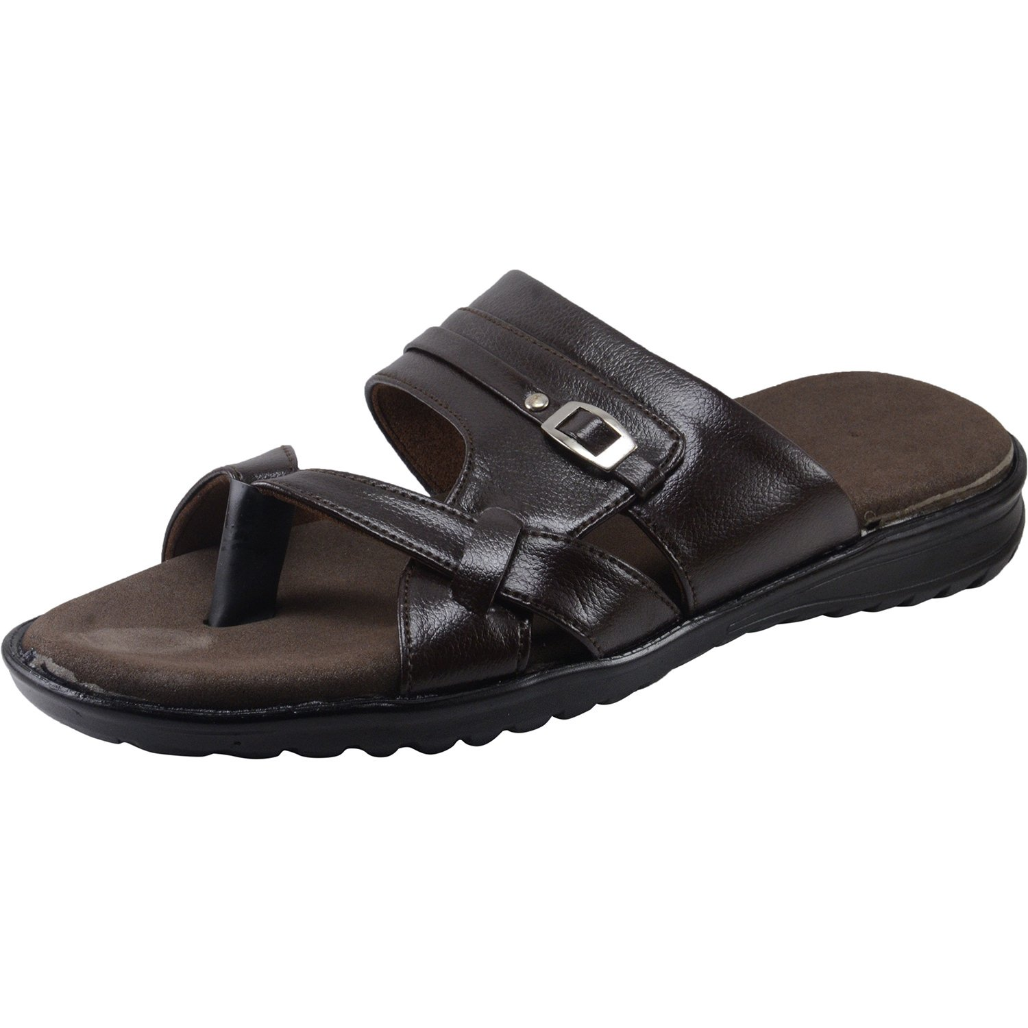 2a604304cfef Vonzo Men Soft Doctor Chappal- Slip on Supersoft 409  Buy Online at Low  Prices in India - Amazon.in