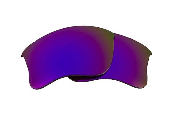 47ff6f35d56 Best SEEK Replacement Lenses for Oakley HALF JACKET 2.0 Polarized Purple  Mirror