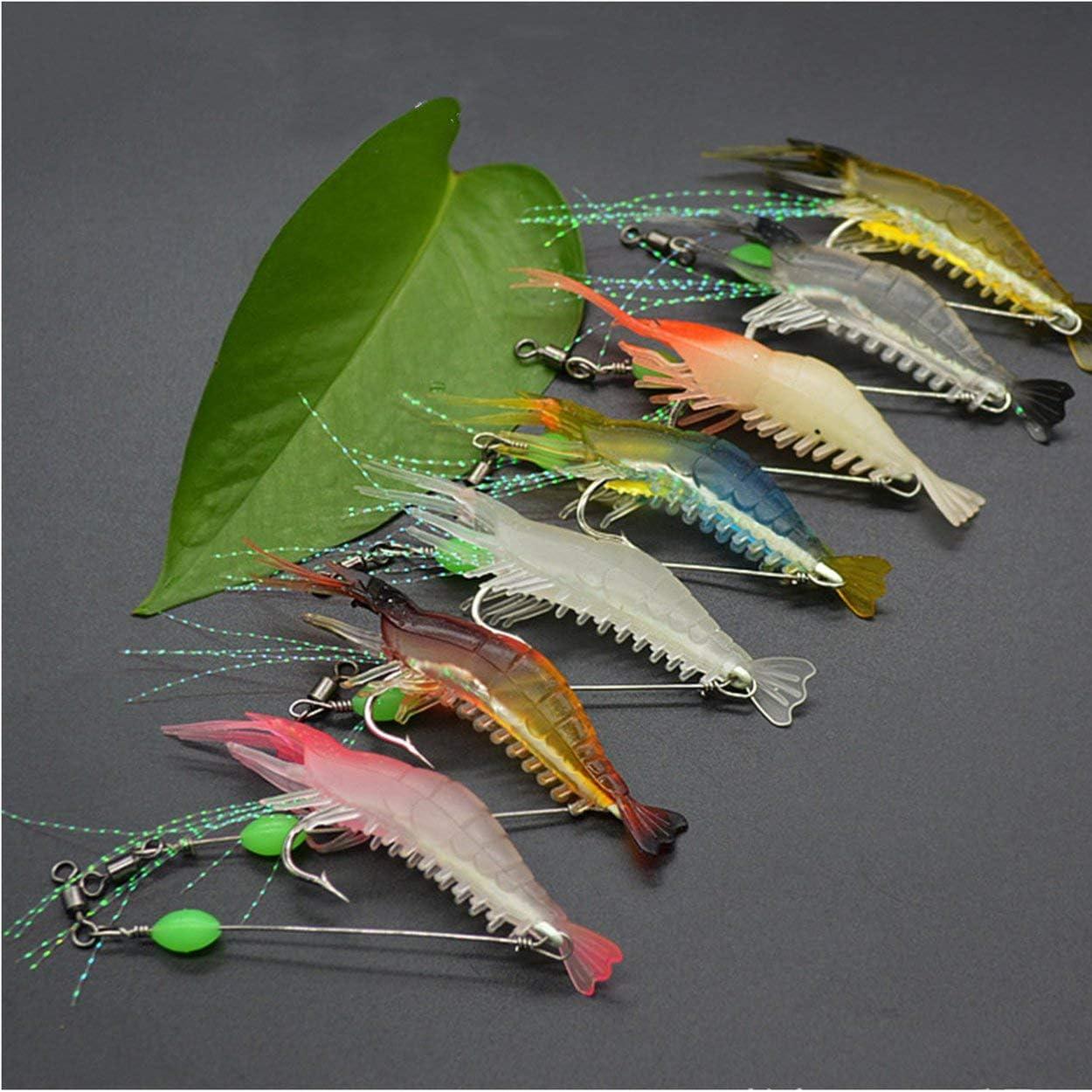 Lorenlli 8 cm 5 g cebos de Pescado con Cuentas de Pesca de ...