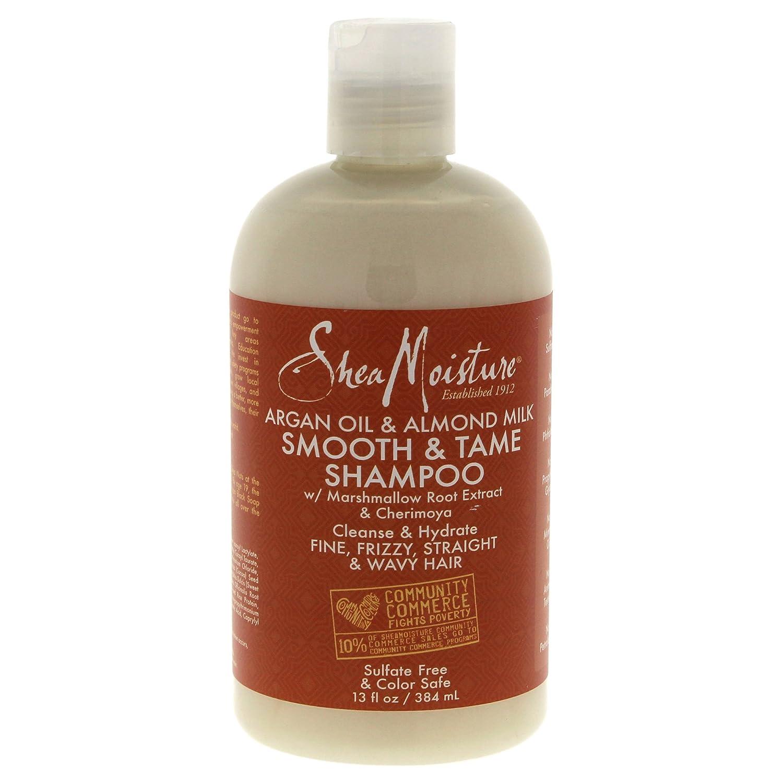 Arganöl & Mandelmilch glatten & Zähmen Shampoo von Shea Feuchtigkeit für Unisex–13oz Shampoo U-HC-12199