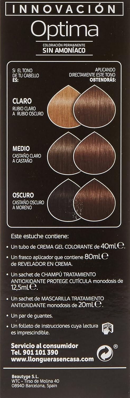 LLONGUERAS OPTIMA tinte Chocolate Bombón Nº 6,41 caja 1 ud