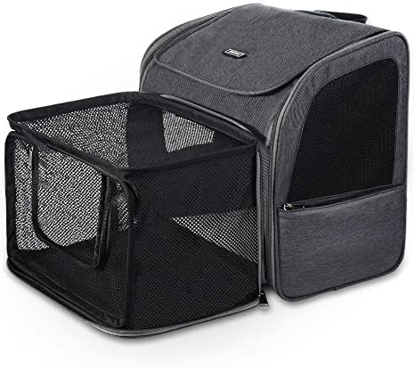 Outdoor Travel Pet Carrier Backpack Cat Dog Puppy Holder Bag Cage for Small Dogs