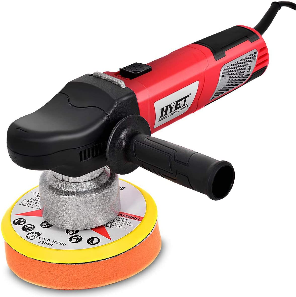 Goplus Random Orbital Polisher Electrical Sander Variable Speed Dual-Action Grinder Buffer Kit For Auto Detail 6 inch