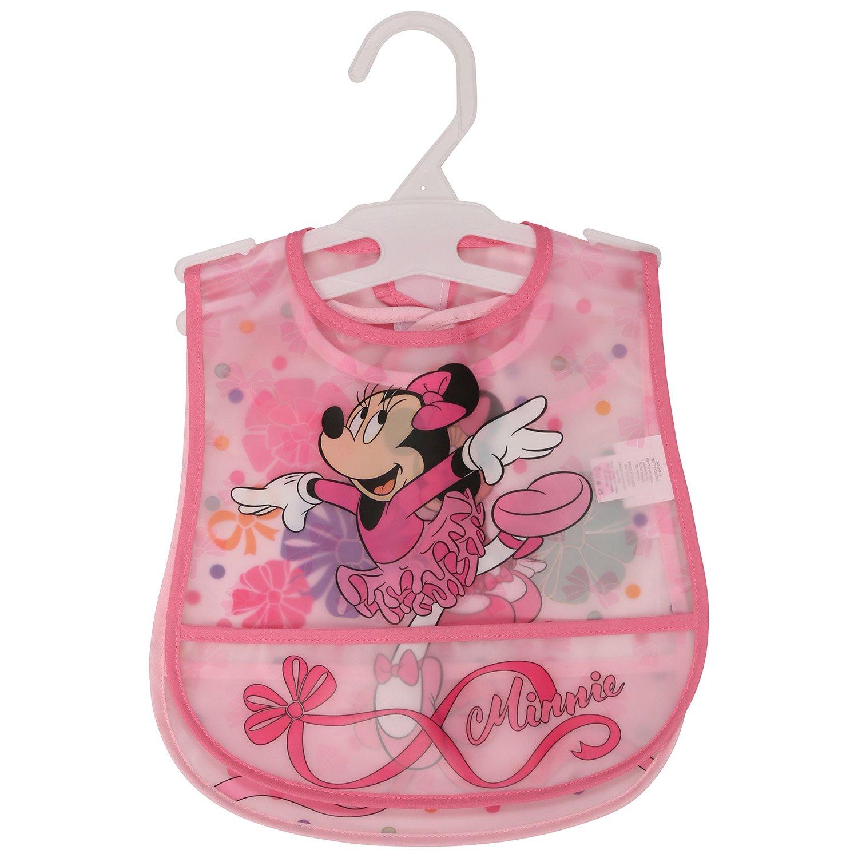 Bebé recién nacido Chicas Disney Minnie Mouse 5 piezas Conjunto de Regalo Babero Manta pañuelo