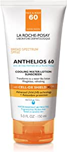 La Roche Posay Anthelios 60 Cooling Water Lotion Sunscreen SPF 60 150ml/5oz