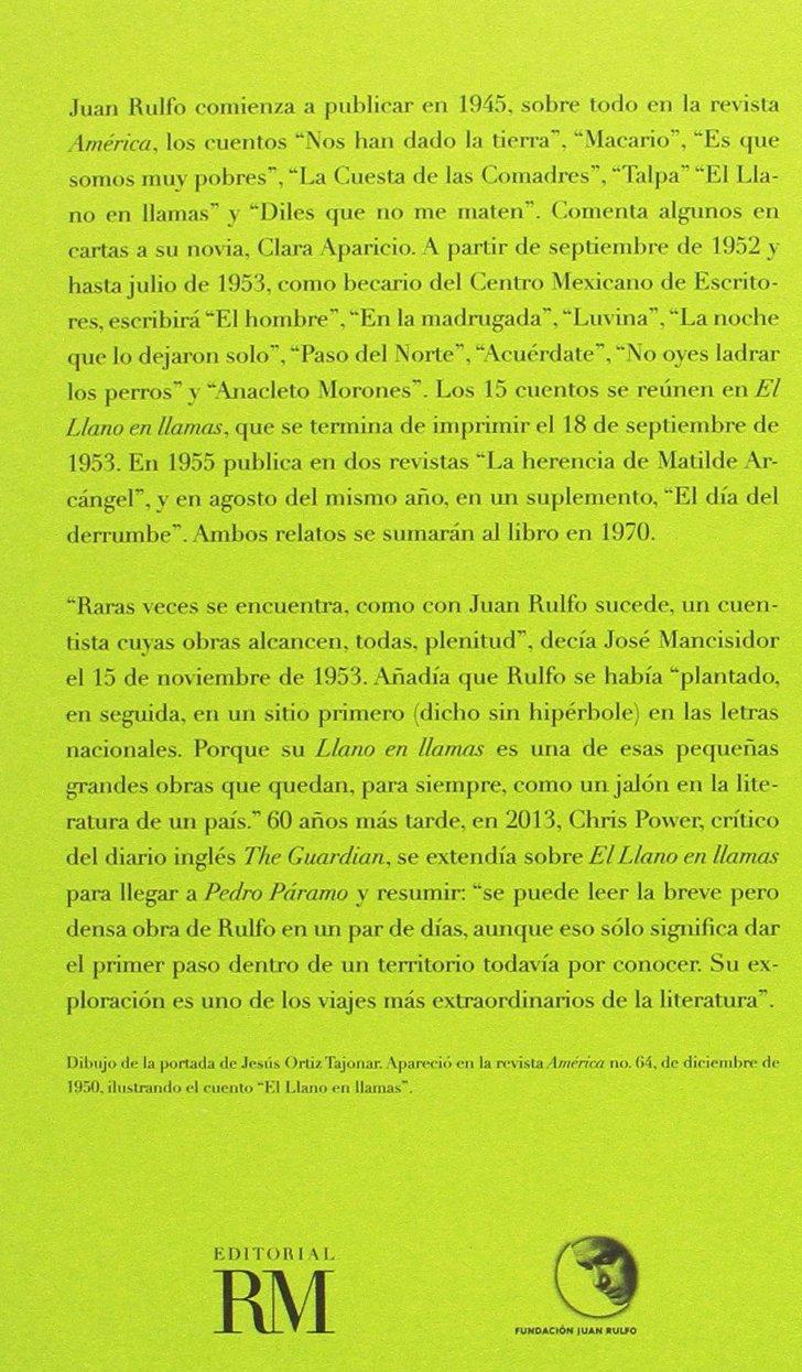 CAJA. EDICIÓN CONMEMORATIVA DEL CENTENARIO DE JUAN RULFO: Pedro ...