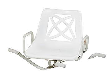 days sedia girevole per vasca da bagno in alluminio