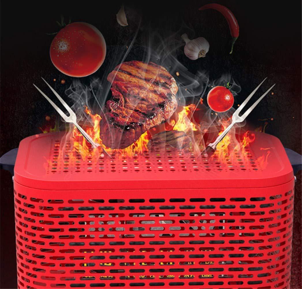 WYFDM Calentador Eléctrico 2000W - Uso Casero De La Barbacoa Ahorro De Energía: Amazon.es: Hogar