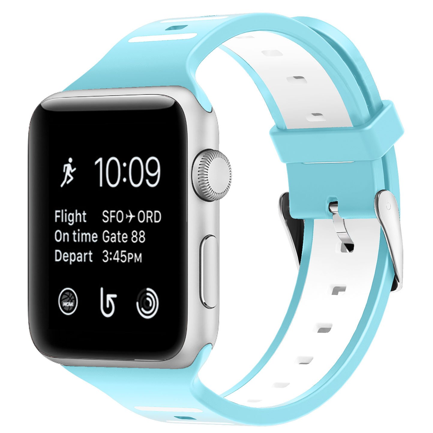 Tounique - Correa de Reloj para Apple Watch, Doble Color, Diseño ...