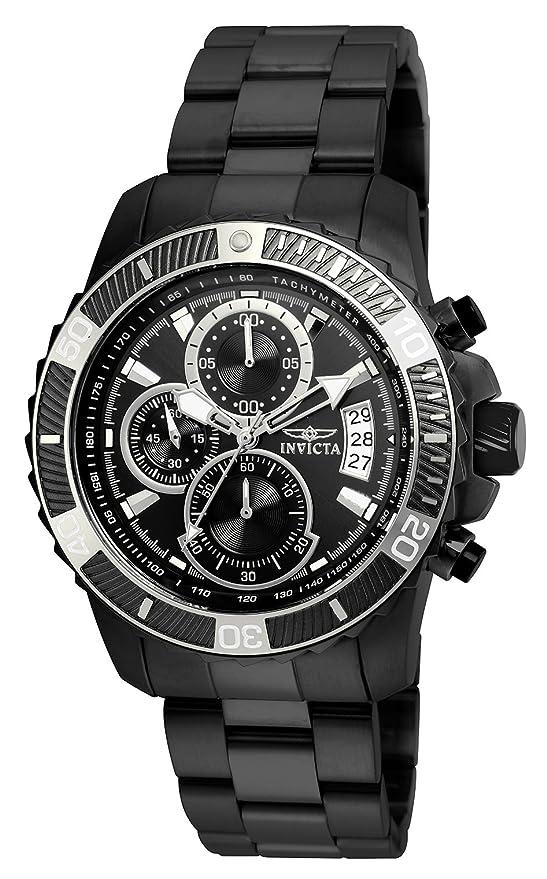 Invicta 22417 Pro Diver - Scuba Men's Wrist Watch Stainless Steel Quartz Black Dial