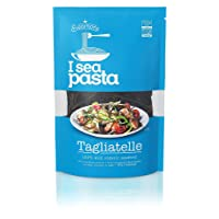 Seamore Organic I Sea Pasta Seaweed Noodles -Tagliatelle-, 100g