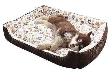 VLUNT cama para perros grandes, suave y acogedor cama para ...
