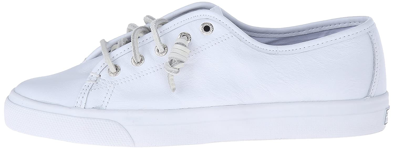 Sperry Women's Seacoast Core Fashion Sneaker B00L9DYAGC 10 B(M) US White Leather