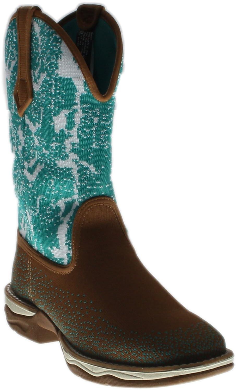 Laredo Women's Daydreamer Woven Western Boot Square Toe - 5957 B01LX6ACLS 8 B(M) US|Tan