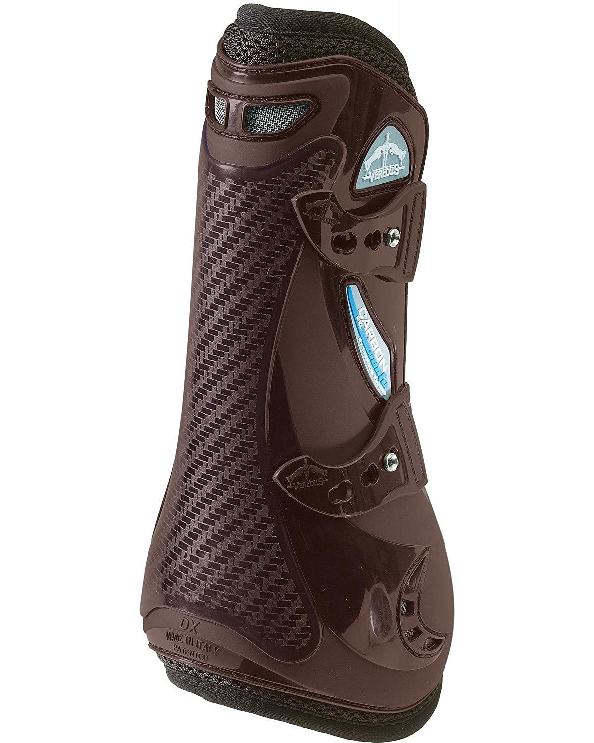 Brown Large Brown Large Veredus Carbon Gel VENTO Open Front Boot