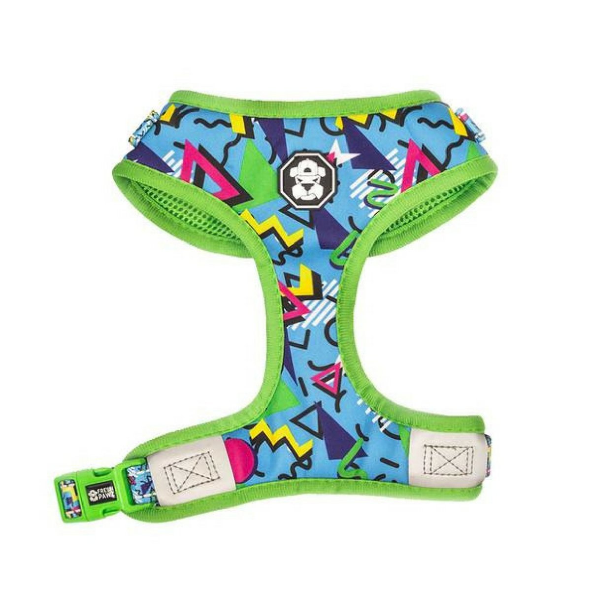 The 90's Throwback Large The 90's Throwback Large Fresh Pawz Adjustable Mesh Harness, The 90's Throwback, Large