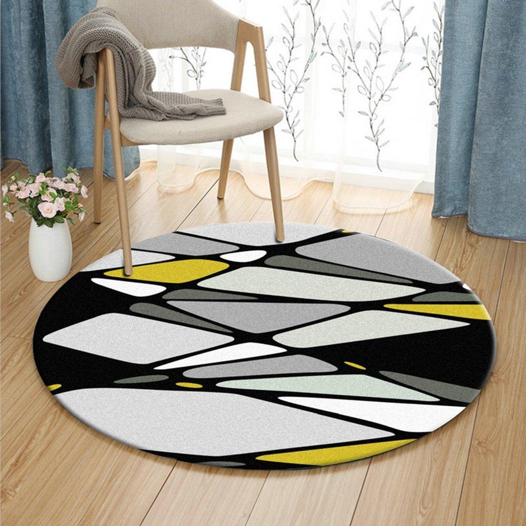 runder teppich im wohnzimmer. Black Bedroom Furniture Sets. Home Design Ideas