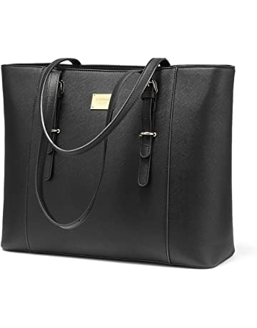 a9eff0febf0a Laptop Bag for Women Large Office Handbags Briefcase Fits Up to 15.6 inch  (Updated Version