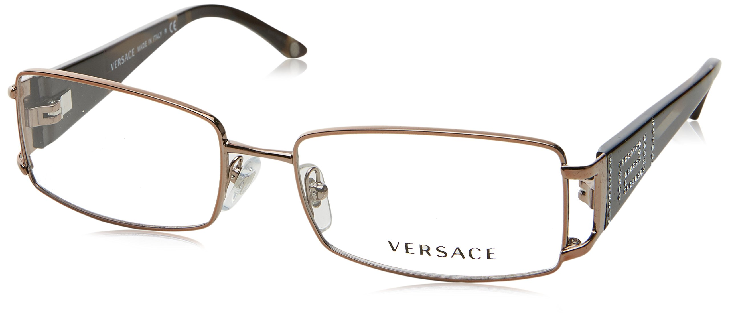 759421d19c Amazon.com  Versace VE1163B Eyeglass Frames 1013-5216 - Brown  VE1163B-1013-52  Shoes