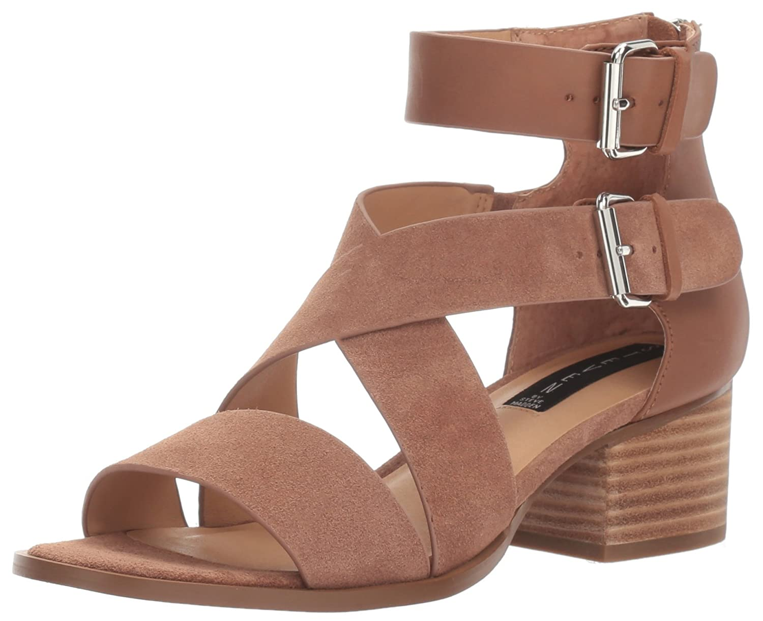 STEVEN by Steve Madden Women's Sandal Elinda Dress Sandal Women's B01LXG9J1T Heeled ff04f8