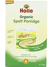 Holle Organic from 4 Months Spelt Porridge 250 g (Pack of 3)