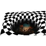 N / A Halloween Doormat, Funny Horror Doormat,Home Non-Slip Doormat for Halloween Decoration, 60x40CM(I)