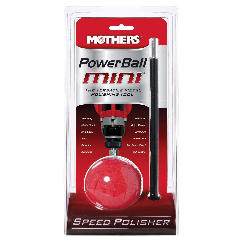 Mothers 05141-6 PowerBall Mini Metal Polishing Tool, (Pack of 6)