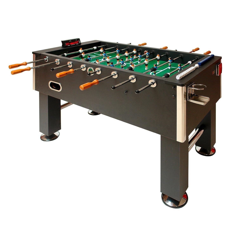 Dema – Futbolín con contador de goles eléctrico, color negro