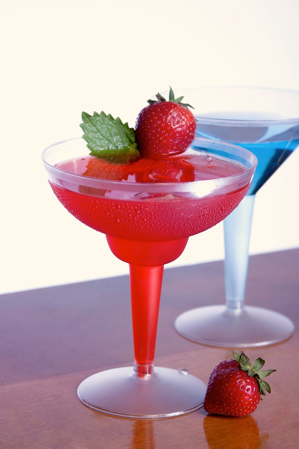 12-Ounce Capacity Case of 120 Party Essentials Hard Plastic 2-Piece Margarita Glass North West Enterprises N121021 Clear