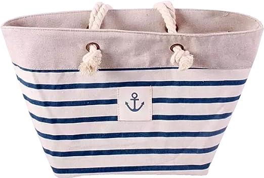 Queenie® – 1 pc de la mujer Casual algodón bolso de compras bolso hombro bolsa playa bolsa: Amazon.es: Hogar