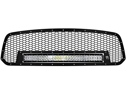 Amazon Com Rigid Industries 41585 Grille With 30 Rds Light Bar
