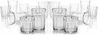 product image for Arc International Luminarc Working Glass 16-Piece Drinkware Set, 8 each Cooler 21 oz. and DOF 14oz