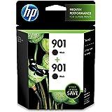 HP 901 | 2 Ink Cartridges | Black | Works with HP OfficeJet 4500, J4500 series, J4680 | CZ075FN
