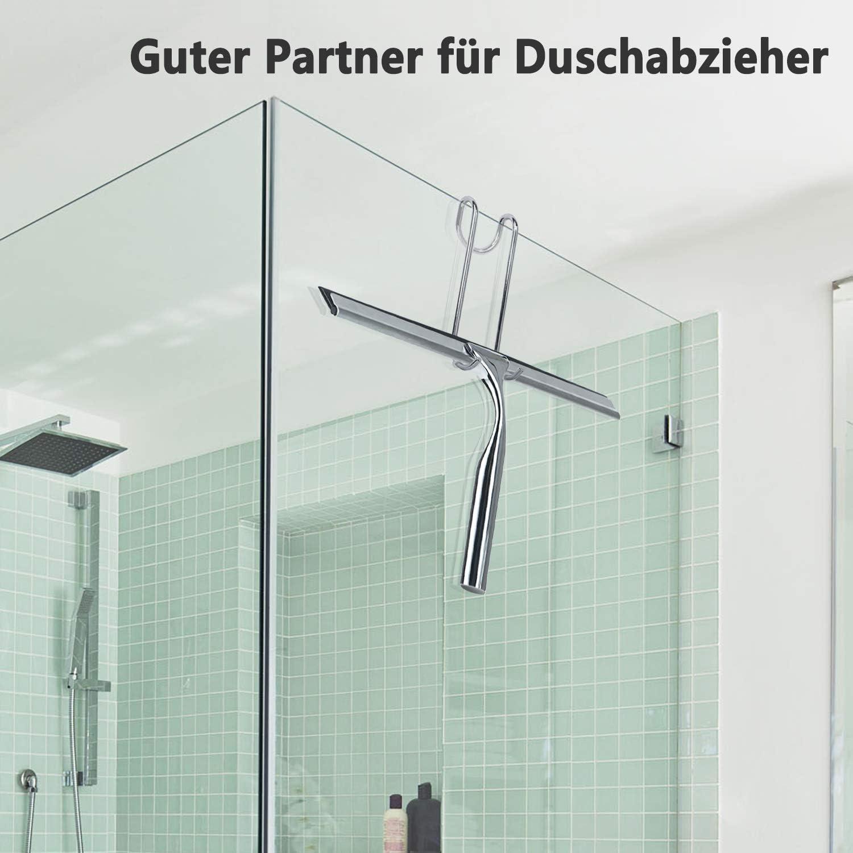 Love-KANKEI Ganchos de ducha Juego de 2 ganchos de ducha de ...