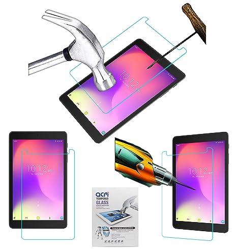 db3395a1f4d425 Acm Tempered Glass Screenguard for Alcatel 3t 8 Tablet Screen Guard ...