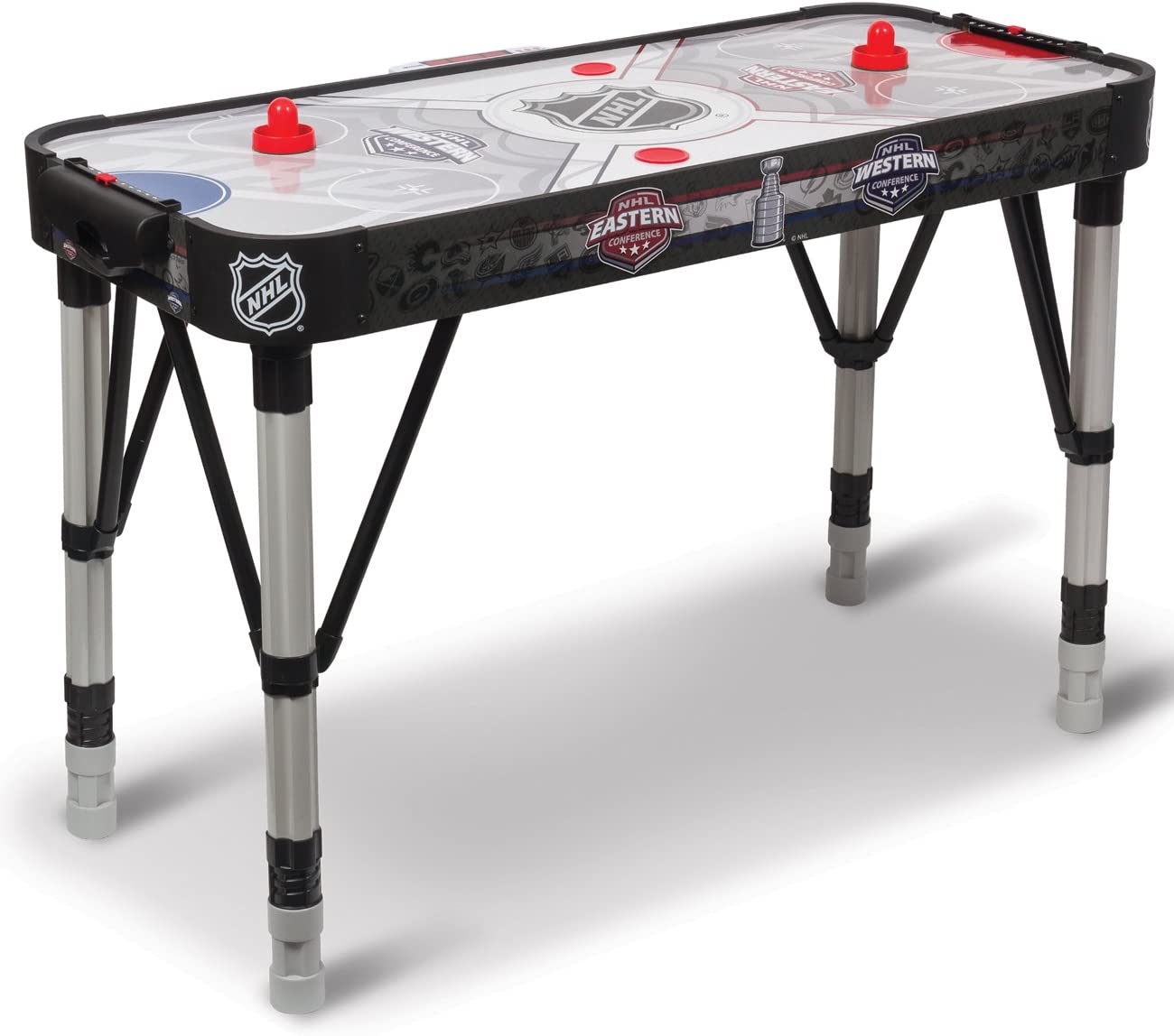 Amazon.com : NHL 48-Inch Adjust & Store Hover Hockey Table ...