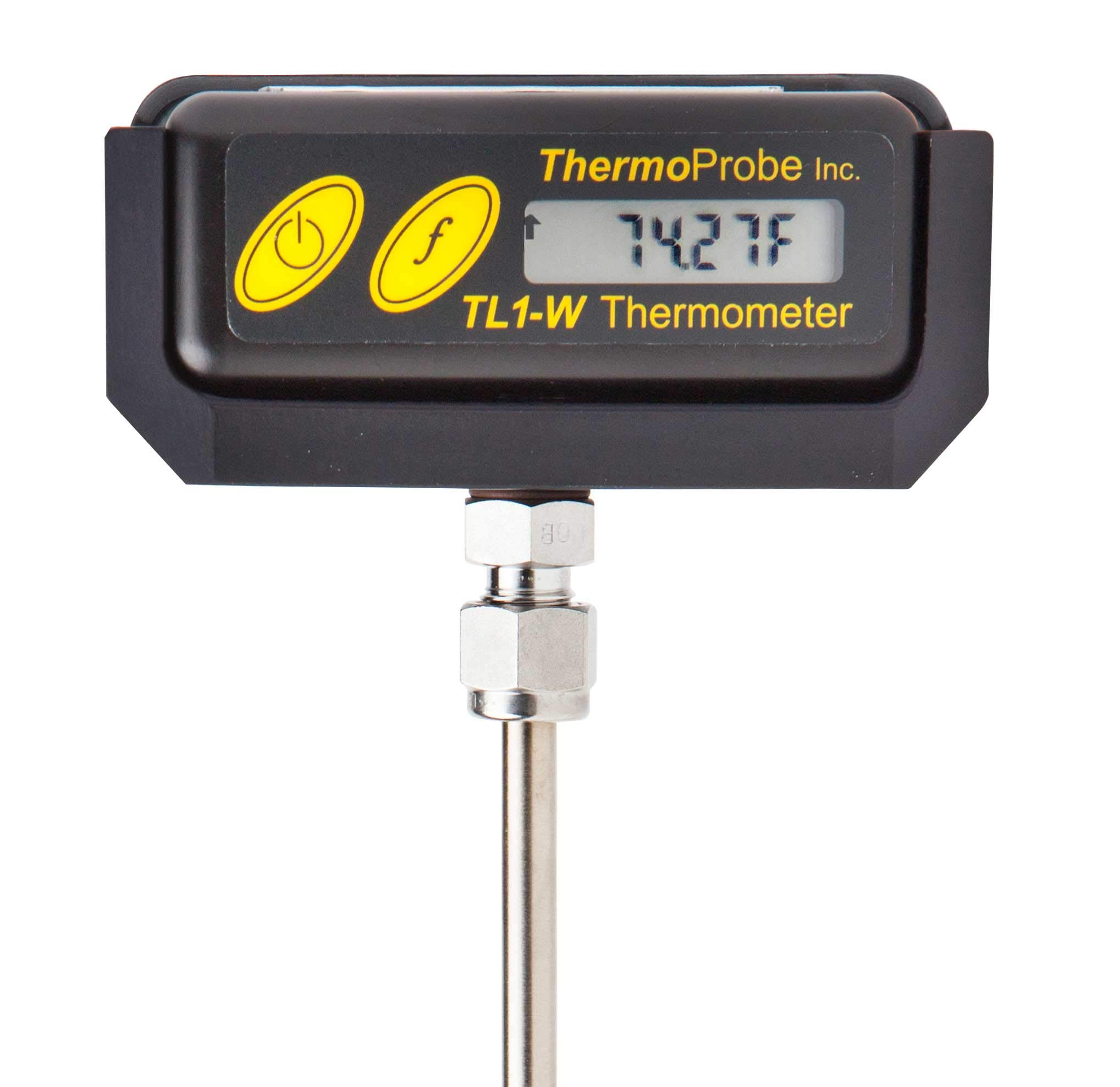 TL1-W Intrinsically Safe Portable Stem Thermometer for Laboratory and Field Reference – Rugged Design with 12'' Stem and NIST traceable, ISO/IEC 17025 Accredited Report of Calibration in Fahrenheit