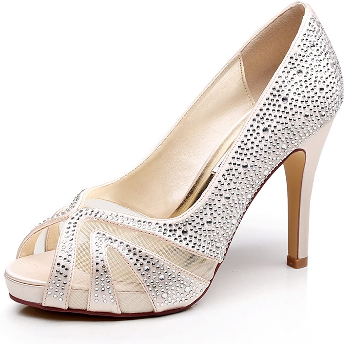 Bridal Shoes in Silver