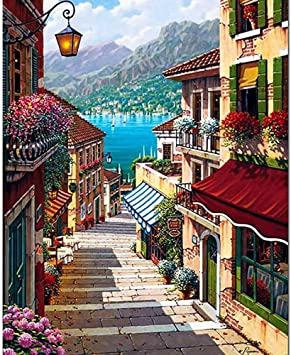 Pictur diy oil painting Sao digital paint by numbers//Style cartoon poster modular painting//coloring by numbers