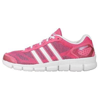 Adidas Laufschuhe CC Fresh Climacool semi solar pink-running white-neon pink (M17431) 36 2/3 pink B0fJleIGl