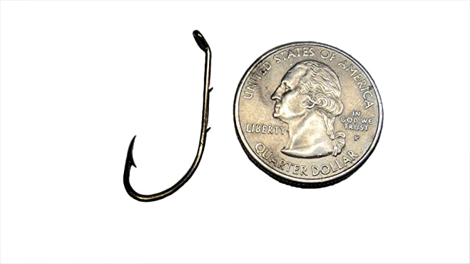 Sz6 Bronze Baitholder 4-Pack Eagle Claw 4284-6 2-Way Spinner Rigs